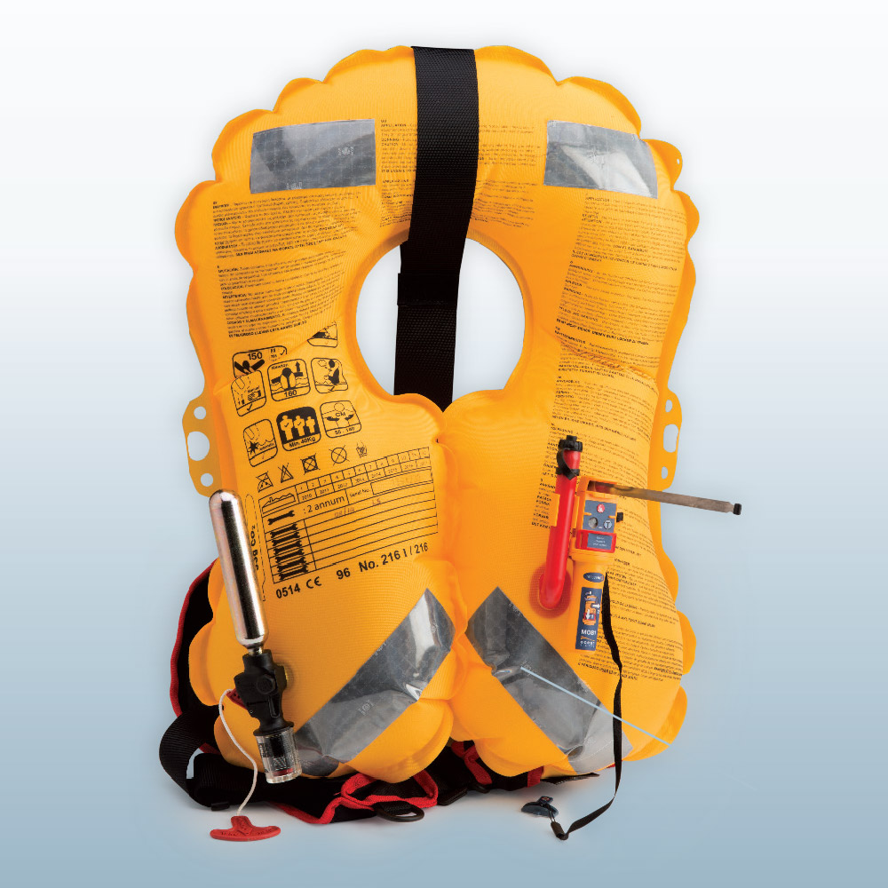 Lifejacket with intergrated AIS - MOB1